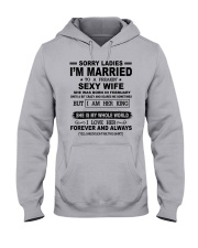 i'm married to a freakin sexy wife february Hooded Sweatshirt thumbnail
