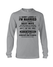 i'm married to a freakin sexy wife february Long Sleeve Tee thumbnail