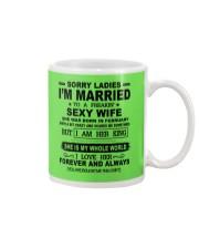 i'm married to a freakin sexy wife february Mug thumbnail