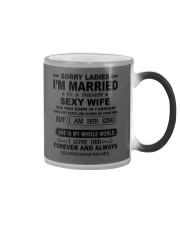 i'm married to a freakin sexy wife february Color Changing Mug thumbnail
