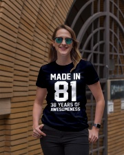 made in 81 Ladies T-Shirt lifestyle-women-crewneck-front-2