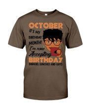 october accepting Classic T-Shirt thumbnail