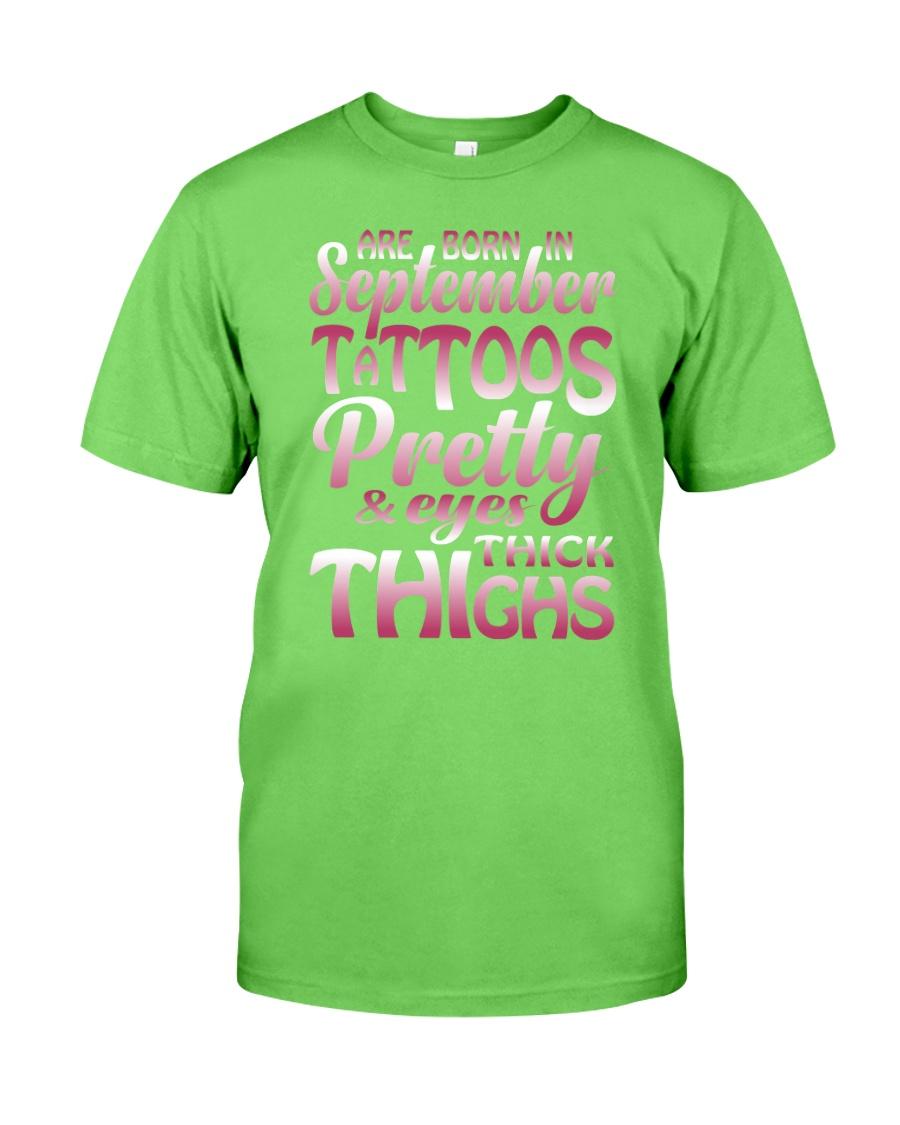 9-tattoo-betty Classic T-Shirt
