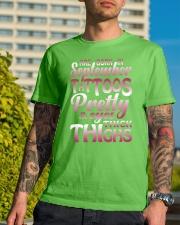 9-tattoo-betty Classic T-Shirt lifestyle-mens-crewneck-front-8