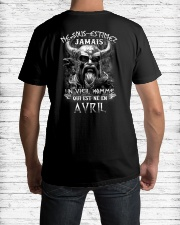avril jamais Classic T-Shirt lifestyle-mens-crewneck-back-1