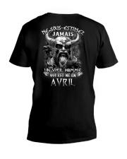 avril jamais V-Neck T-Shirt thumbnail