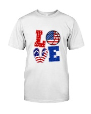 basketball love Classic T-Shirt thumbnail