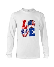 basketball love Long Sleeve Tee thumbnail
