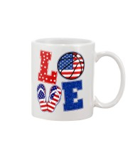 basketball love Mug thumbnail