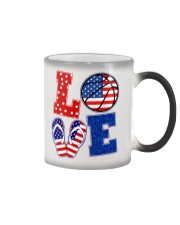 basketball love Color Changing Mug thumbnail