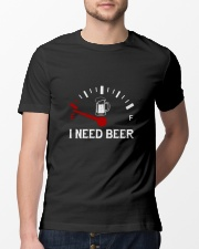 I NEED beer Classic T-Shirt lifestyle-mens-crewneck-front-13