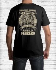 febrero todos los hombres Classic T-Shirt lifestyle-mens-crewneck-back-1