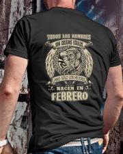 febrero todos los hombres Classic T-Shirt lifestyle-mens-crewneck-back-2