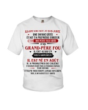 d'un grand pere fou aout Youth T-Shirt front