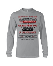 d'un grand pere fou aout Long Sleeve Tee tile