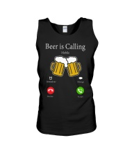 beer is call Unisex Tank thumbnail