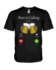 beer is call V-Neck T-Shirt thumbnail