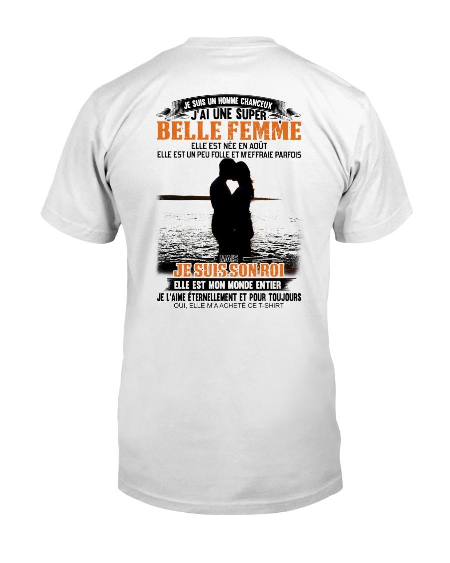 Elle Est Nee En 8 Classic T-Shirt