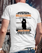 Elle Est Nee En 8 Classic T-Shirt lifestyle-mens-crewneck-back-2