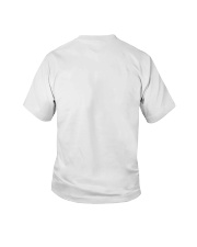 crazy papa born in january Youth T-Shirt back