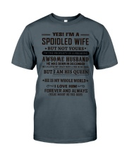 spoiled wife december Classic T-Shirt thumbnail