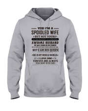 spoiled wife december Hooded Sweatshirt thumbnail