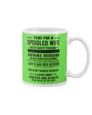 spoiled wife december Mug thumbnail
