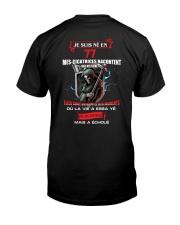 je suis ne en 77 Classic T-Shirt back