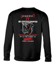 je suis ne en 77 Crewneck Sweatshirt thumbnail