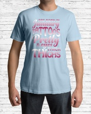 1-tattoo-betty Classic T-Shirt lifestyle-mens-crewneck-front-1