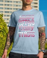 1-tattoo-betty Classic T-Shirt lifestyle-mens-crewneck-front-8