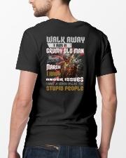 walk away mar Classic T-Shirt lifestyle-mens-crewneck-back-5