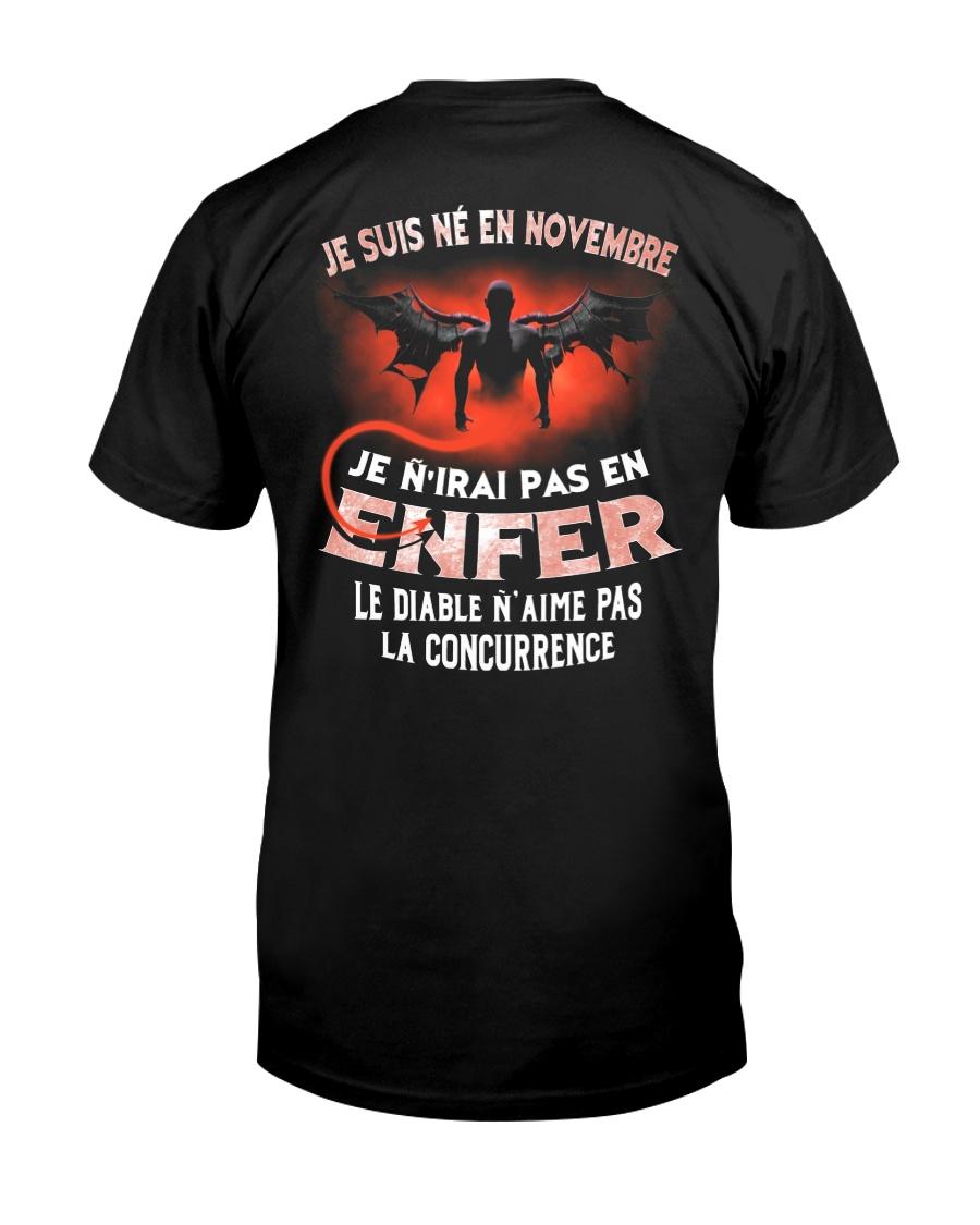novembre enfer Classic T-Shirt