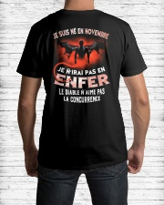 novembre enfer Classic T-Shirt lifestyle-mens-crewneck-back-1