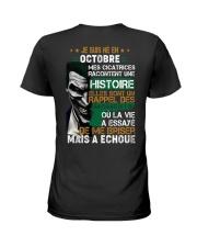mes cicatrices racontent une histoire octobre Ladies T-Shirt thumbnail