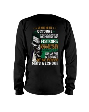 mes cicatrices racontent une histoire octobre Long Sleeve Tee thumbnail