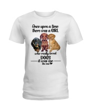 dogs it was me Ladies T-Shirt front