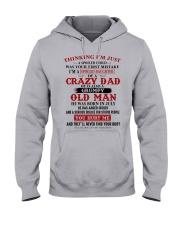 crazy dad born in july Hooded Sweatshirt thumbnail