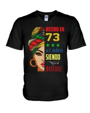 Hecho En 73 V-Neck T-Shirt thumbnail