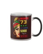 Hecho En 73 Color Changing Mug thumbnail