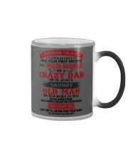 crazy dad may Color Changing Mug thumbnail
