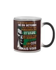 en tant que homme octobre Color Changing Mug thumbnail