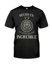 hecho77 Classic T-Shirt front