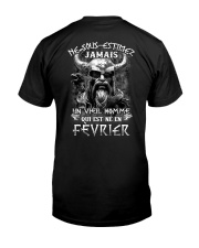 fevrier jamais Classic T-Shirt back