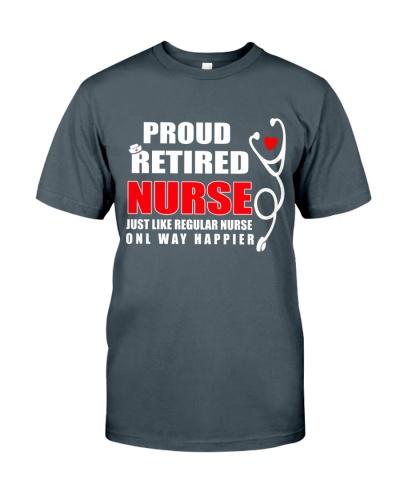 proud retired nurse