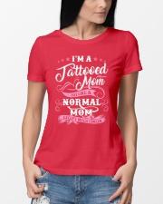 TATTOOED MOM Ladies T-Shirt lifestyle-women-crewneck-front-10