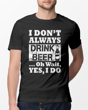 drink beer Classic T-Shirt lifestyle-mens-crewneck-front-13