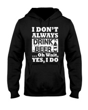 drink beer Hooded Sweatshirt thumbnail