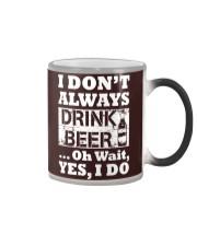 drink beer Color Changing Mug thumbnail