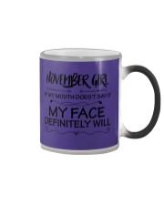 november girl my face defintely will Color Changing Mug thumbnail